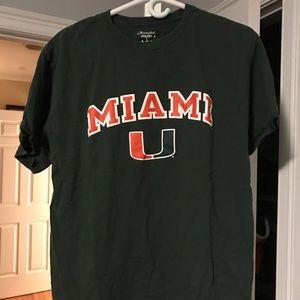 University of Miami Tee